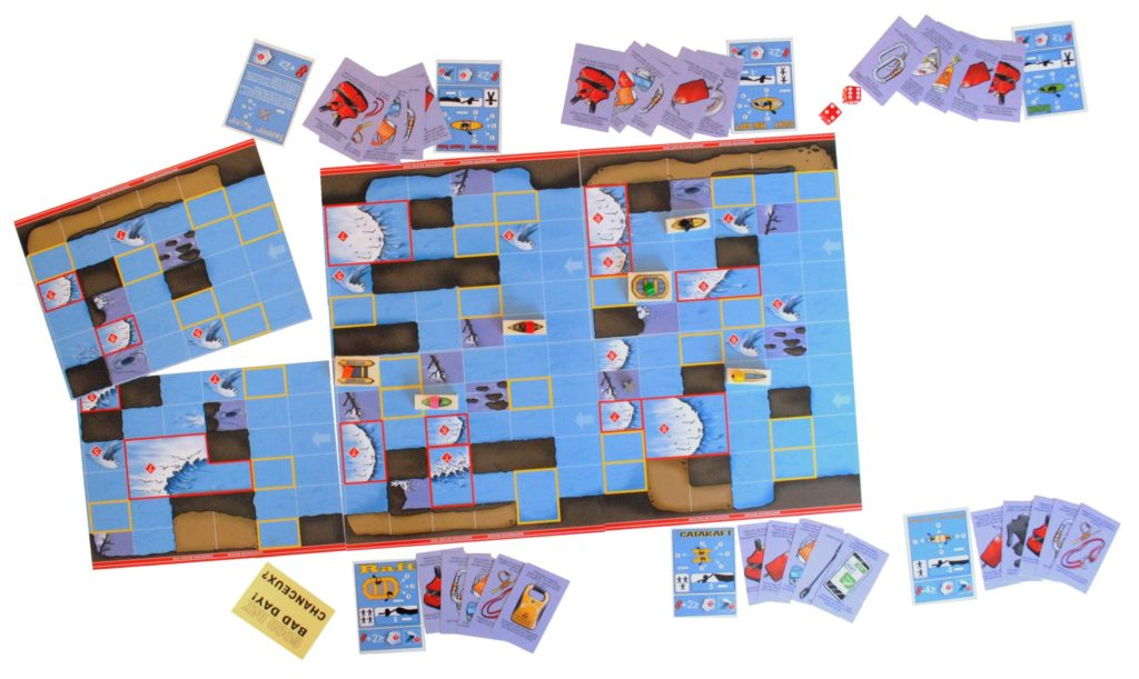 Game board and cards
