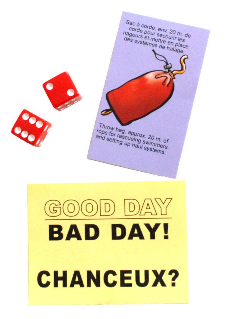Good Day/Bad Day card