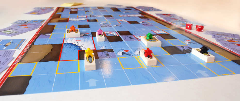 Game board and pieces